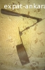 Antique Ladle, Water Dipper, iron