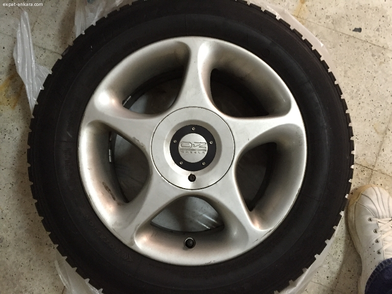 BMW Winter tires and wheel rims