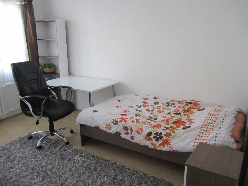 Bright and spacious room for rent in a family home in Ankara