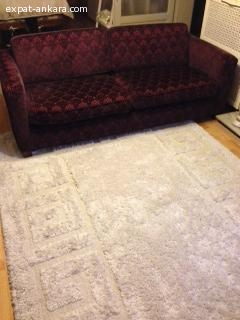 Carpet and couch