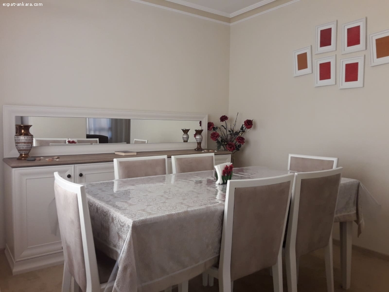 Stylish Fully furnished Duplex for Rent in Cankaya