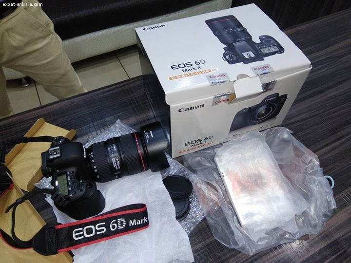 For Sale: Canon EOS 5D Mark II 21MP DSLR Camera with 24-105m