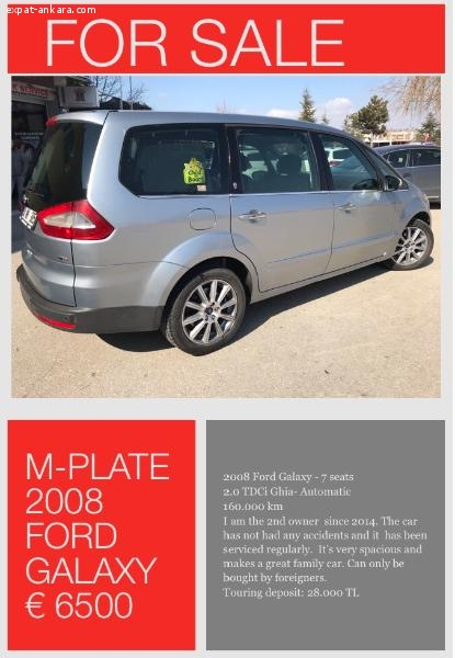 Ford Galaxy 2.0TDCi Ghia Automatic