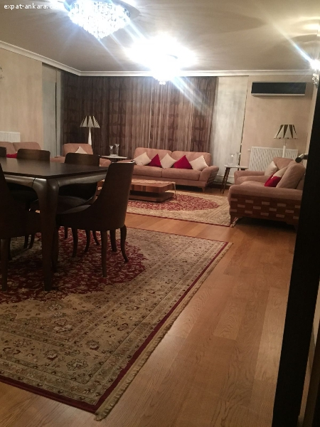 fully furnished luxury apartments 4+1 swimming pool