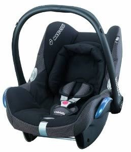 Maxicosi cabriofix infant car seat with base