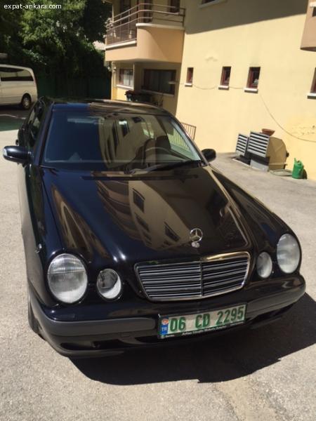 Mercedes Benz E 240 Limusin Diplomatic Car for Sale