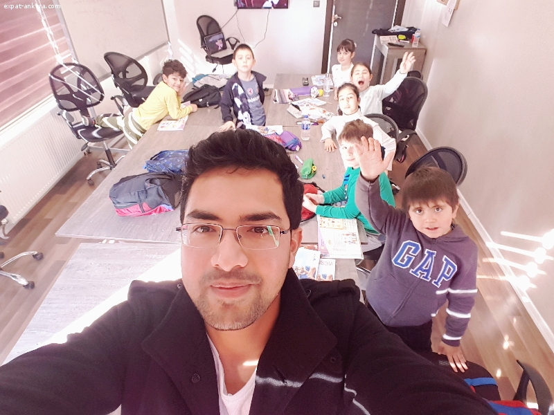 Native English Teacher in Ankara