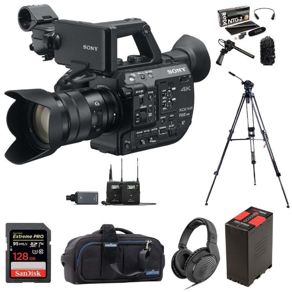 New Camcorder And Pro video Equipment