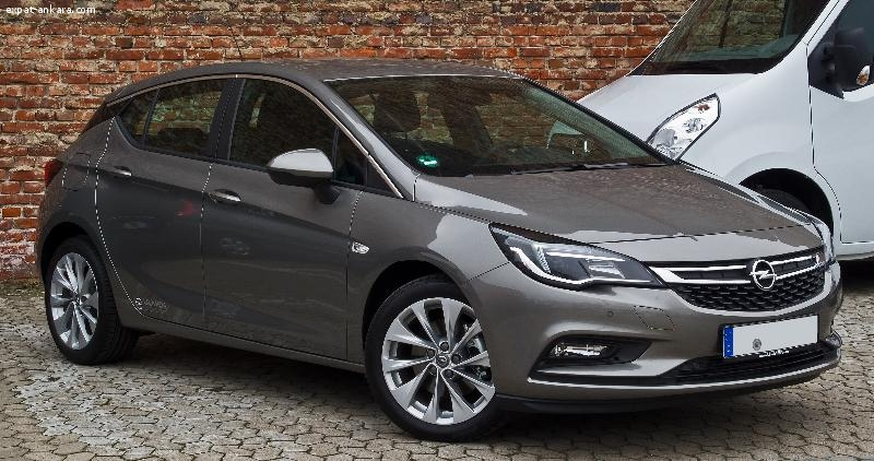 Opel Astra 2016 (Diplomatic plate)