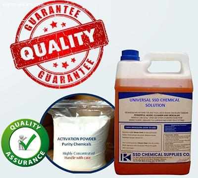 SSD CHEMICAL, ACTIVATION POWDER and MACHINE available!