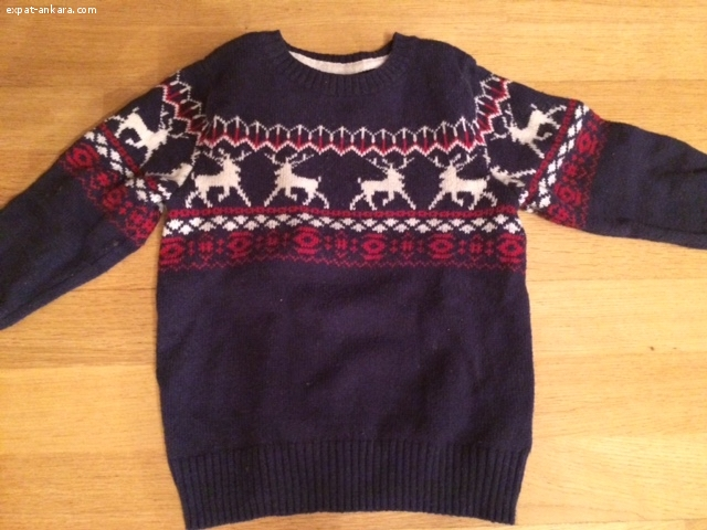 Toddler Boy Winter Sweaters and Shirts